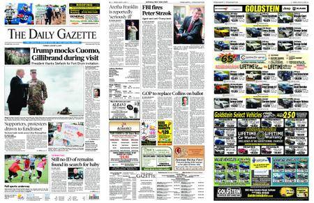 The Daily Gazette – August 14, 2018