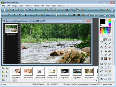PhotoFiltre Studio X 10.12 Multilingual + Portable