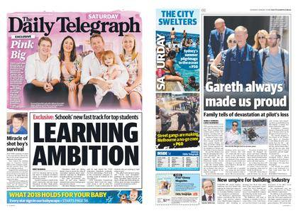 The Daily Telegraph (Sydney) – January 06, 2018