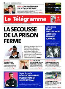 Le Télégramme Brest Abers Iroise – 02 mars 2021