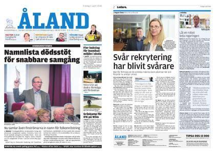 Ålandstidningen – 06 april 2018