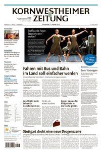 Kornwestheimer Zeitung - 11. Oktober 2018