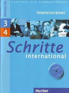 Deutsch als Fremdsprache: Schritte international 3+4. Intensivtrainer