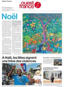 Ouest-France Édition France – 24 décembre 2019