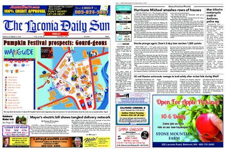 The Laconia Daily Sun – October 12, 2018