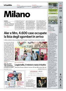 la Repubblica Milano - 3 Settembre 2018
