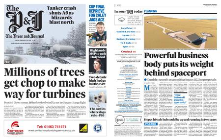 The Press and Journal Moray – February 28, 2020