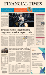 Financial Times Europe - February 01, 2021