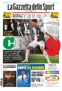 La Gazzetta dello Sport Roma – 21 luglio 2020
