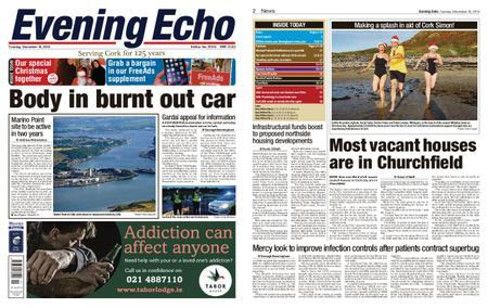 Evening Echo – December 18, 2018
