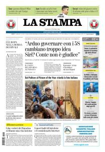 La Stampa Imperia e Sanremo - 28 Aprile 2019