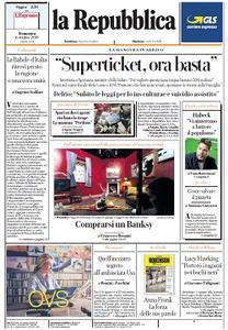 la Repubblica - 6 Ottobre 2019