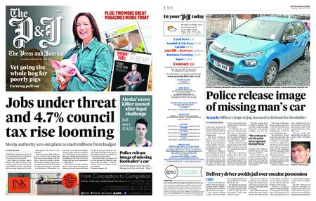 The Press and Journal Moray – February 23, 2019