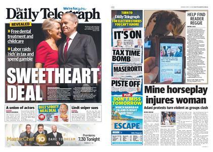 The Daily Telegraph (Sydney) – April 29, 2019