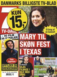 7 TV-Dage – 18. marts 2019