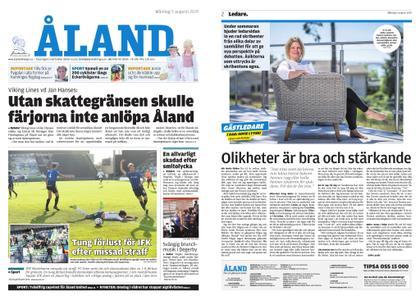 Ålandstidningen – 05 augusti 2019