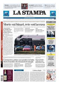 La Stampa Torino Provincia e Canavese - 7 Febbraio 2020