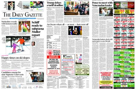 The Daily Gazette – February 25, 2019