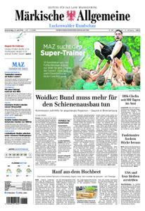 Märkische Allgemeine Luckenwalder Rundschau - 11. Juli 2019