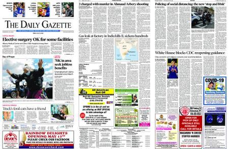 The Daily Gazette – May 08, 2020