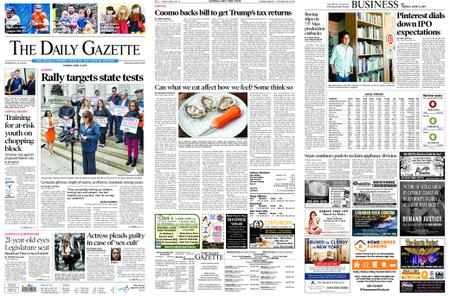 The Daily Gazette – April 09, 2019