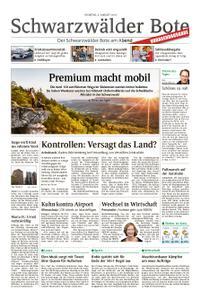 Schwarzwälder Bote Sulz - 06. August 2019