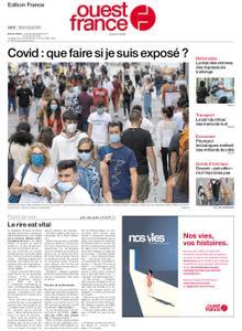 Ouest-France Édition France – 25 août 2020