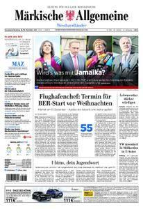 Märkische Allgemeine Westhavelländer - 18. November 2017