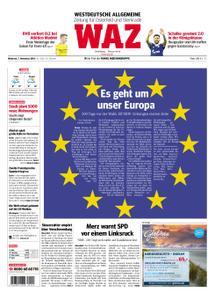 WAZ Westdeutsche Allgemeine Zeitung Oberhausen-Sterkrade - 07. November 2018