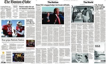 The Boston Globe – January 19, 2018