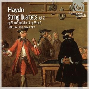 Jerusalem Quartet - Haydn: String Quartets, Vol. 2 (2011)