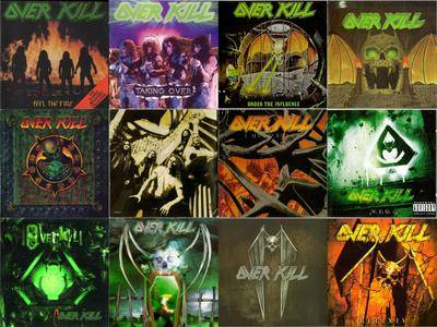 Overkill: CD Collection (1985-2009) Re-up