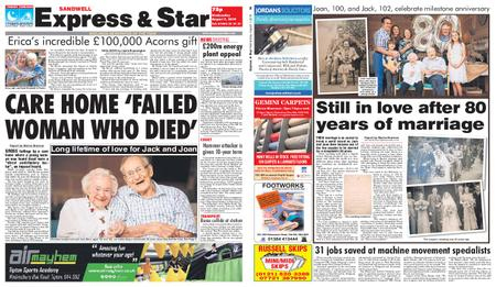 Express and Star Sandwell Edition – August 07, 2019