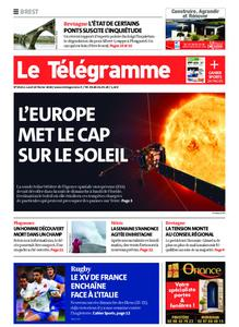 Le Télégramme Brest – 10 février 2020