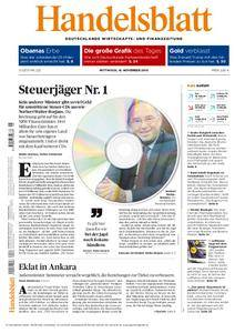 Handelsblatt - 16. November 2016