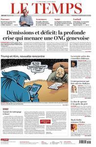 Le Temps - 27 février 2019