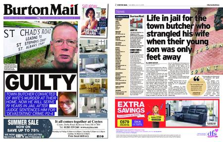 Burton Mail – July 13, 2019