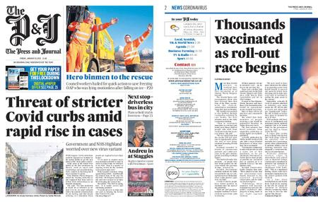The Press and Journal Moray – January 08, 2021