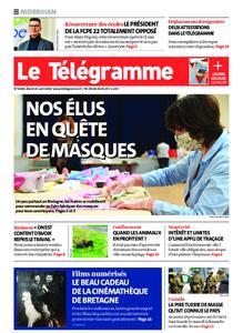 Le Télégramme Auray – 21 avril 2020