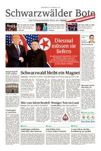 Schwarzwälder Bote Hechingen - 28. Februar 2019
