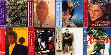 Rod Stewart: Japanese CD Collection (1976 - 1998)