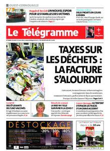 Le Télégramme Ouest Cornouaille – 13 mars 2021