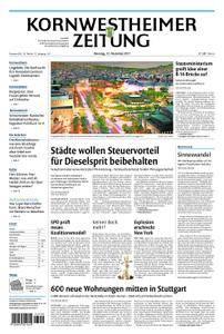 Kornwestheimer Zeitung - 12. Dezember 2017