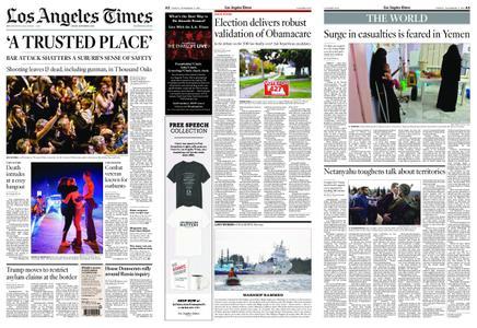 Los Angeles Times – November 09, 2018