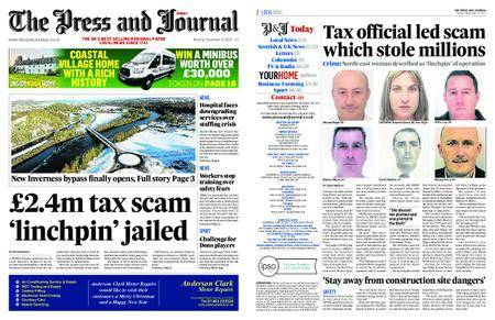 The Press and Journal Moray – December 12, 2017