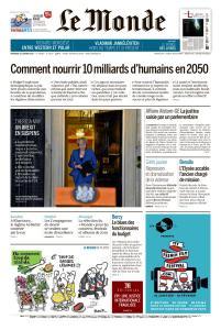 Le Monde du Vendredi 18 Janvier 2019