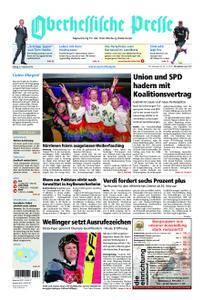 Oberhessische Presse Marburg/Ostkreis - 09. Februar 2018