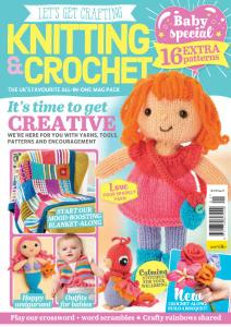 Let's Get Crafting Knitting & Crochet - May 2020
