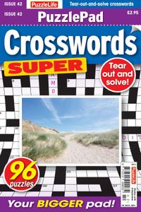 PuzzleLife PuzzlePad Crosswords Super – 12 August 2021