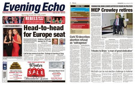 Evening Echo – January 18, 2019